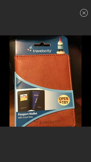 Travelocity Passport Wallet for Sale in Beverly, MA