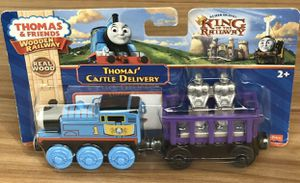 NEW REAL WOOD Thomas the Train & Friends Wooden Railway THOMAS' CASTLE DELIVERY. for Sale in Phillips Ranch, CA