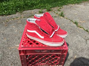 All Red Skate High Vans for Sale in Columbus, OH