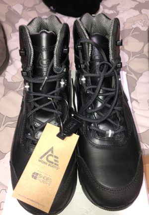 ACE WORK BOOTS MENS SIZE 10.5 for Sale in Baltimore, MD