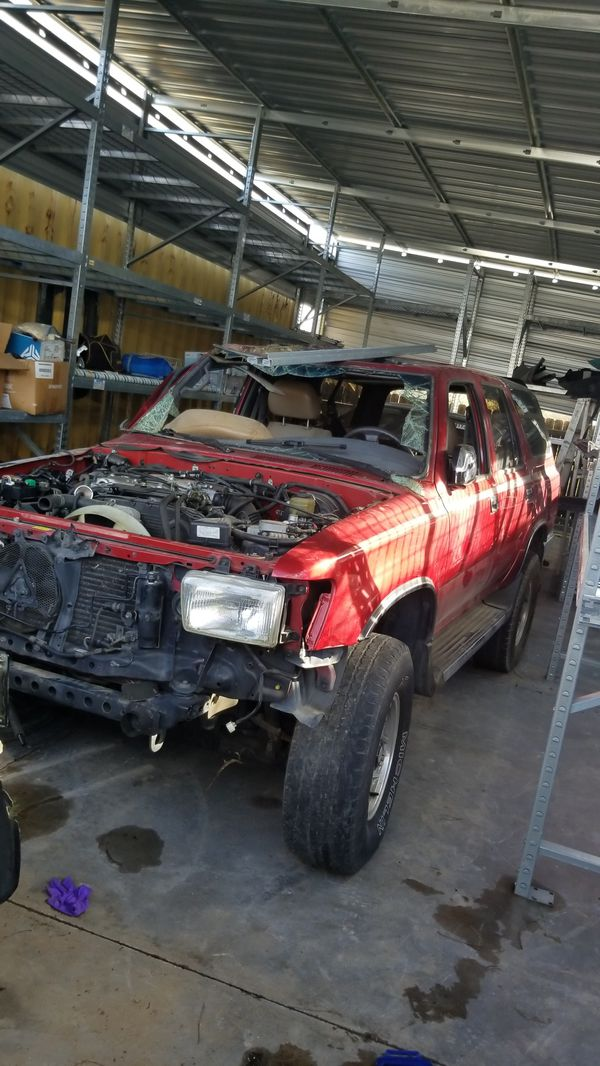 Parting out Toyota 4runner