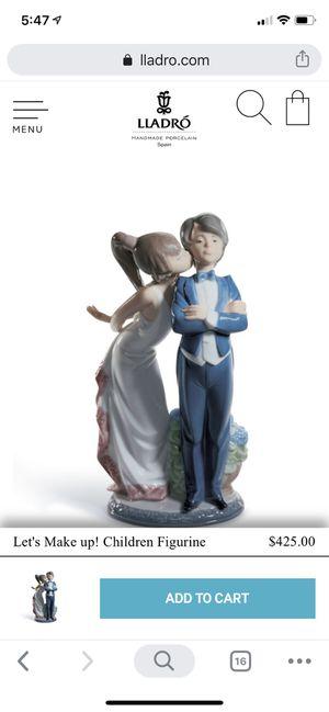 Lladro let's make up porcelain figurine for Sale in Austin, TX