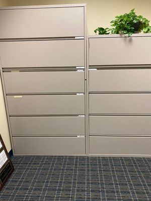 Lateral Metal File Cabinets - 2 sets for Sale in Plantation, FL