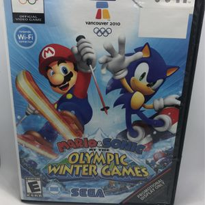 Mario & Sonic Olympic Winter Games Nintendo Wii for Sale in Corona, CA