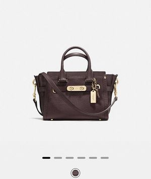 Coach Swagger 20 in Pebble leather for Sale in West Los Angeles, CA