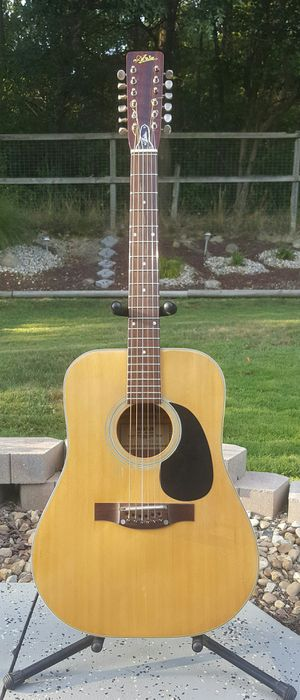 Vintage Aria 12 String Acoustic Guitar w/ Case Nice! for Sale in Robinson Township, PA