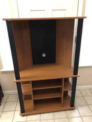 Tall TV Stand Cabinet Entertainment Center with Storage Shelves for Sale in Elk Grove, CA
