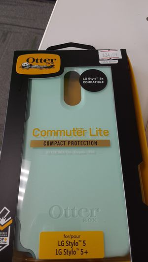 LG Stylo 5 Otterbox Case!!! Mint green color!! for Sale in San Angelo, TX