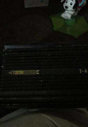 Tomahawk t-4 amplifier and SDX audio speaker for Sale in Redwood City, CA