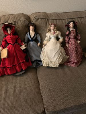 Franklin Heirloom Little Women Doll's for Sale in Anaheim, CA