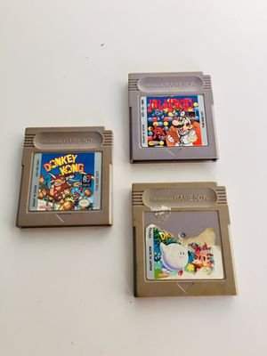 Classic Gameboy Games for Sale in Lemoore, CA