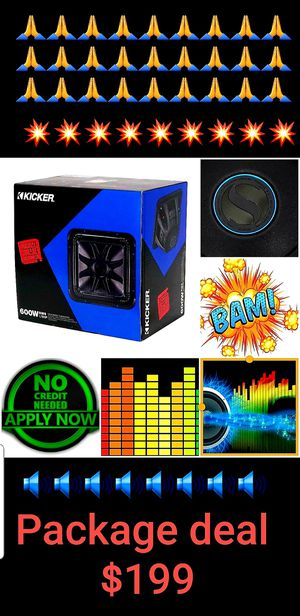 Car subwoofer for Sale in San Diego, CA