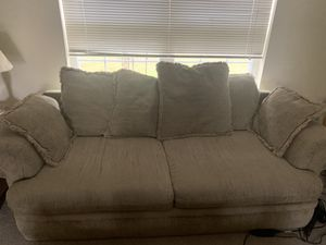 Oversized full and love seat couches for Sale in Traverse City, MI