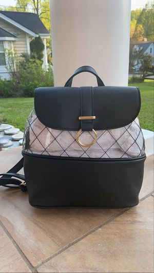 Clear/Black Backpack for Sale in Aspen Hill, MD