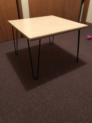 Small Coffee/End Table - Hairpin Legs for Sale in Seattle, WA