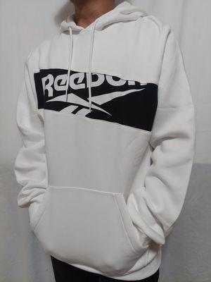 Reebok White Hoodie for Sale in Los Angeles, CA