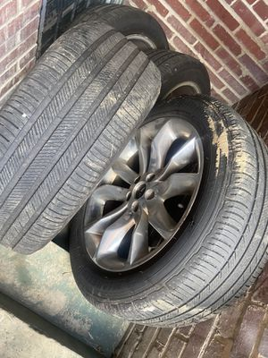 """20"""" rims wit tire for Sale in Washington, DC"""