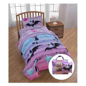 Vampirina Rainbow 6 Piece Bed Set with Bonus Tote and Decorative Pillow - Twin for Sale in El Monte, CA