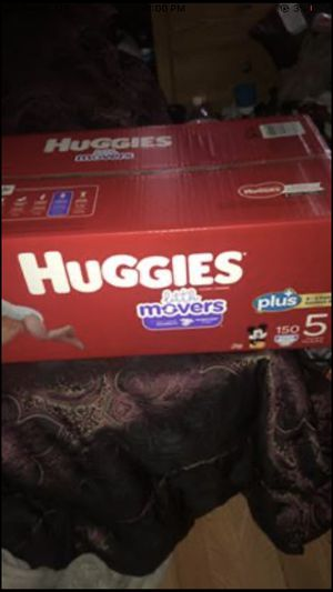 Huggies diapers 150ct for Sale in Detroit, MI