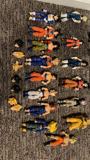 RARE-EXCLUSIVE dragon ball z action figures for Sale in Cleveland, OH