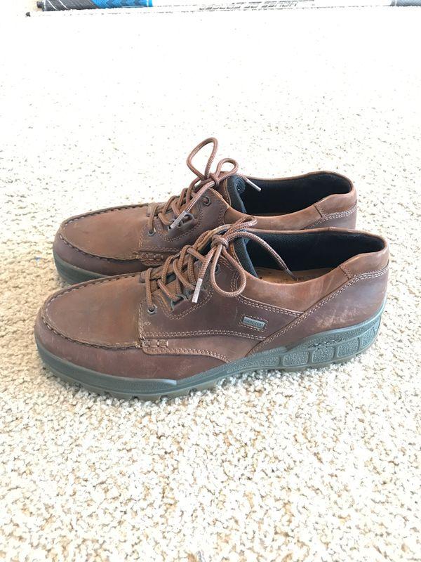 Men's Ecco Hiking shoes Tracker II Gore-Tex US shoe size 13.5 Brown