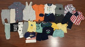 Baby Boy Clothes 0-3 months (25 pc) $35 for Sale in San Jose, CA