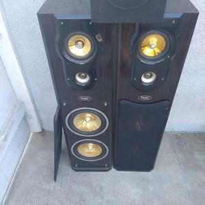 Digital Research Tower Speakers & Powered Subwoofer for Sale in Paramount, CA