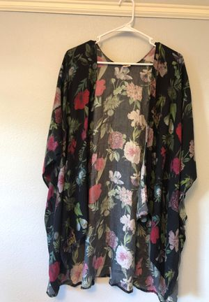 Secko Multi-way shawl In dark floral one size fits all for Sale in Portland, OR