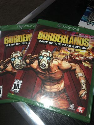 Borderlands game of the year edition true 4k Xbox one x for Sale in Portland, OR