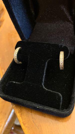14k Gold Diamond Earings for Sale in Tustin, CA