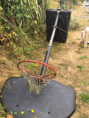 Free basketball hoop and stool for Sale in Seattle, WA
