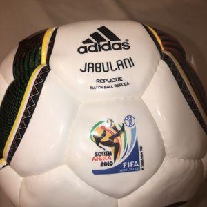 Adidas Jabalani Soccer Futbol Ball Size 5 South Africa World Cup 2010 for Sale in Miami, FL