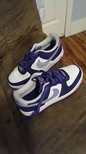 Nike air force ones. Youth 6 .5 for Sale in Galveston, TX