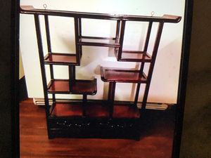 Rosewood wall shelves for Sale in Girard, PA