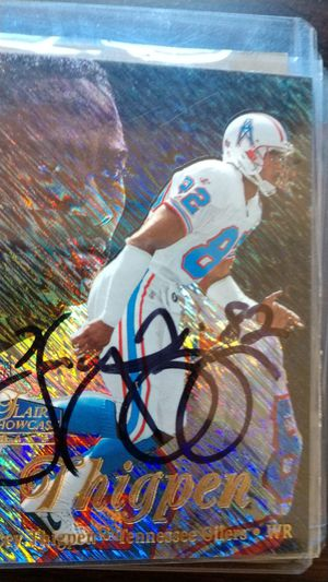 Yancey thigpen Autograph card for Sale in Jacksonville, FL