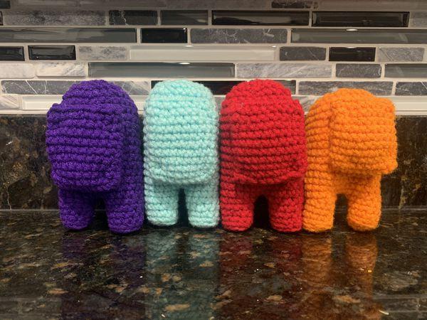 Among Us Crochet Plush