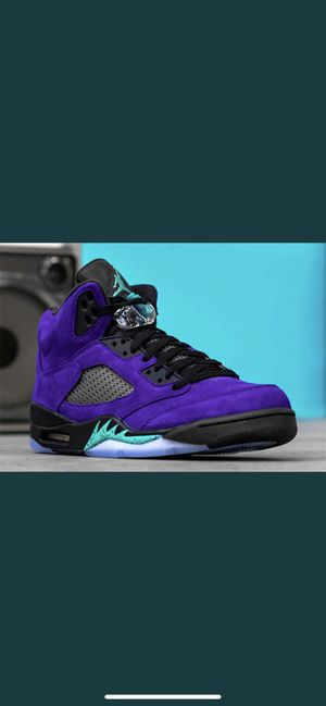 "Air Jordan 5 Retro ""Alternate Grape"" Size 11 for Sale in Pontiac, MI"