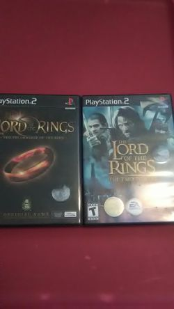 Lord of the rings ps2 for Sale in Advance Mills,  VA