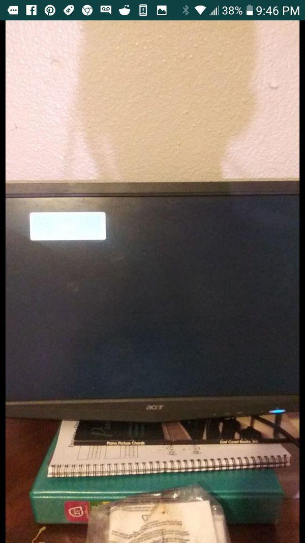 "Acer 20"" Gaming Screen Monitor Computer"