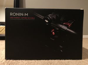 Dji Ronin-m 3-axis Handheld Gimbal Stabilizer for Sale in Seattle, WA