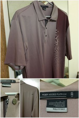 Tiger Woods Nike Golf Polo for Sale in Johnson City, TN