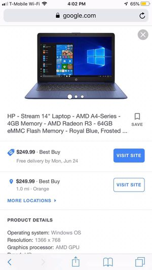 Laptop for Sale in New Haven, CT