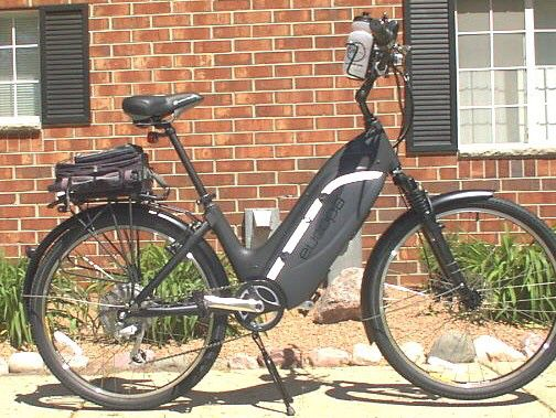 Stonewall Ebikes - Custom Built Electric Bicycles—> Europa Ultra Motor Step-Thru Cruiser
