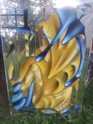 Painting on mirror for Sale in Wayne, IL