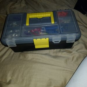 Tackle Box Fullly Stocked for Sale in Fort Worth, TX