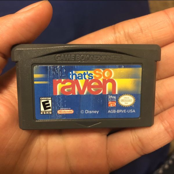 That's So Raven Nintendo Gameboy Advance Video Game