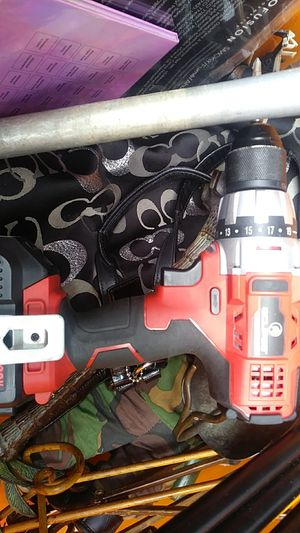 Eclipse 20v drill with battery but no charger for Sale in San Jose, CA