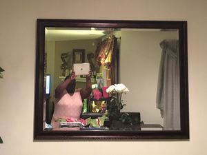 Large, decorative wall mirror for Sale in Durham, NC