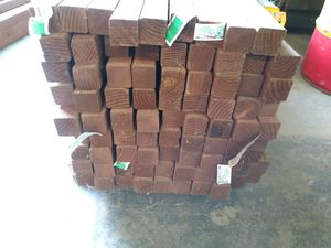 """Pressure treated deck pickets 2""""x2""""x48"""" for Sale in Tacoma, WA"""