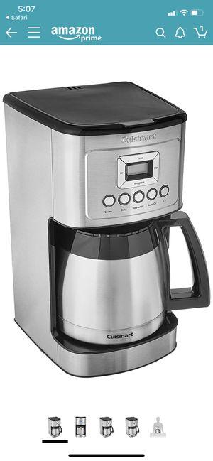 Cuisinart Perfectemp 12-Cup Programmable Coffee Maker with Thermal Carafe for Sale in Las Vegas, NV